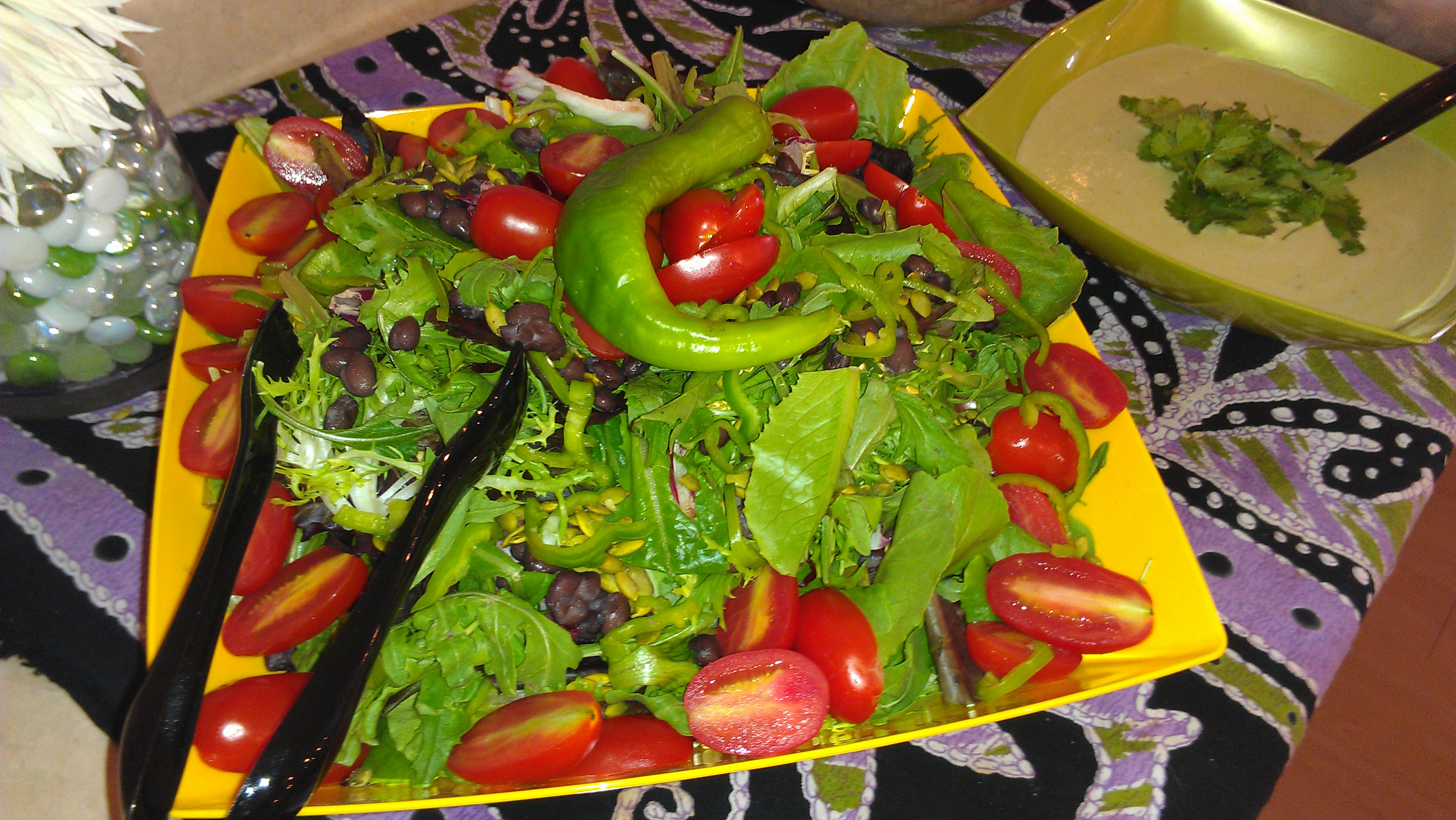 Hatch chile salad pic